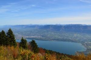 le sommet de la montagne du chat en automne